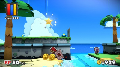 Paper Mario Color Splash, Screenshot #6
