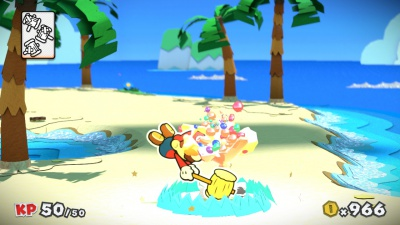 Paper Mario Color Splash, Screenshot #8