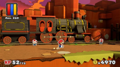 Paper Mario Color Splash, Screenshot #19