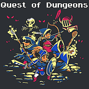 Quest of Dungeons, Covermotiv/Artwork