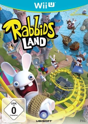 Rabbids Land, Covermotiv