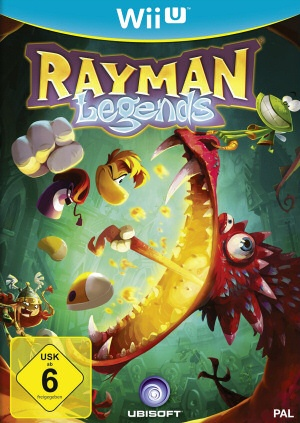 Rayman Legends, Covermotiv/Artwork