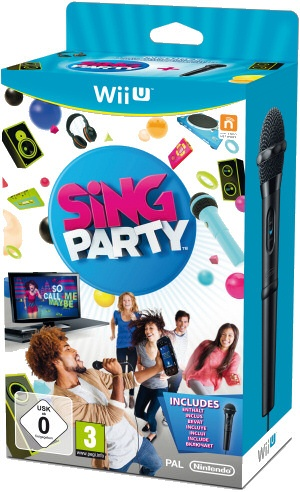 SiNG Party, Covermotiv