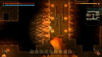 SteamWorld Dig - A Fistful of Dirt, Screenshot #2