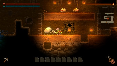 SteamWorld Dig - A Fistful of Dirt, Screenshot #3