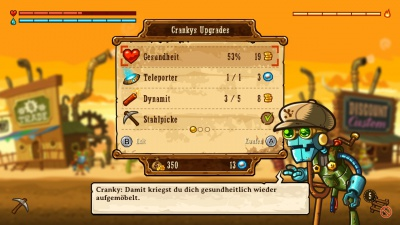SteamWorld Dig - A Fistful of Dirt, Screenshot #7