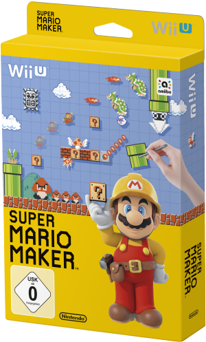 Super Mario Maker, Covermotiv