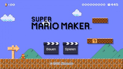 Super Mario Maker, Screenshot #1