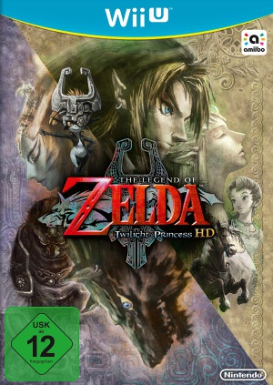 The Legend of Zelda: Twilight Princess HD, Covermotiv/Artwork