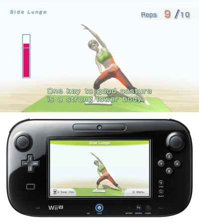Wii Fit U, Screenshot #7