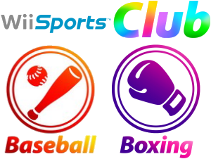 Wii Sports Club: Baseball und Boxen, Covermotiv
