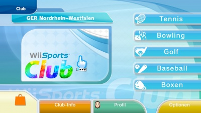 Wii Sports Club: Baseball und Boxen, Screenshot #1