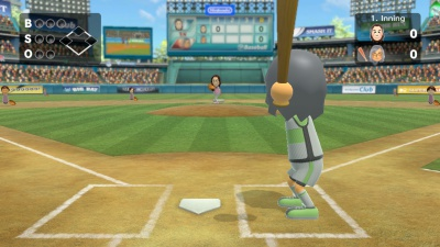 Wii Sports Club: Baseball und Boxen, Screenshot #2