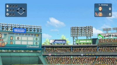 Wii Sports Club: Baseball und Boxen, Screenshot #4