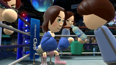 Wii Sports Club: Baseball und Boxen, Screenshot #7