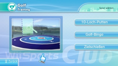 Wii Sports Club: Golf, Screenshot #2