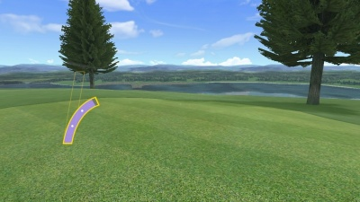Wii Sports Club: Golf, Screenshot #3