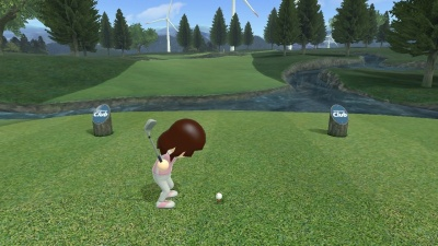 Wii Sports Club: Golf, Screenshot #5