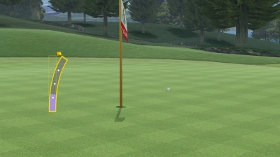 Wii Sports Club: Golf, Screenshot #6